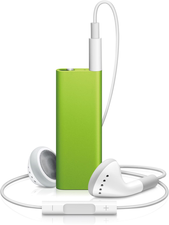 iPod shuffle 4G coloridos (verde)
