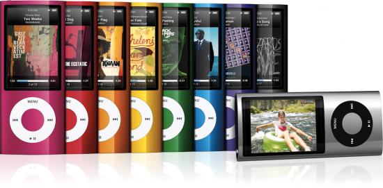 iPods nano 5G