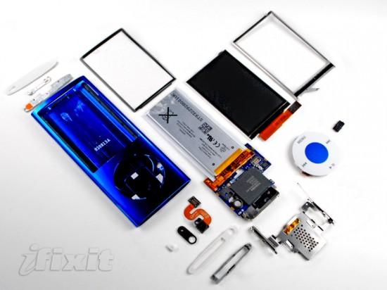 iPod nano 5G dissecado pelo iFixit