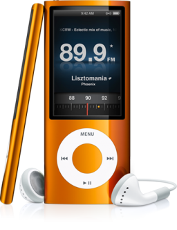 Rádio do iPod nano 5G