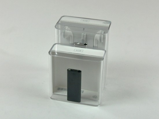 iPod shuffle 3G desmontado pelo iFixit