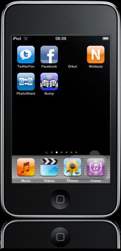 iPod FAIL sem ícone