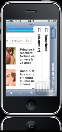 iPhone FAIL menu Safari