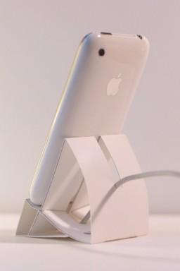 Dock de papel para o iPhone