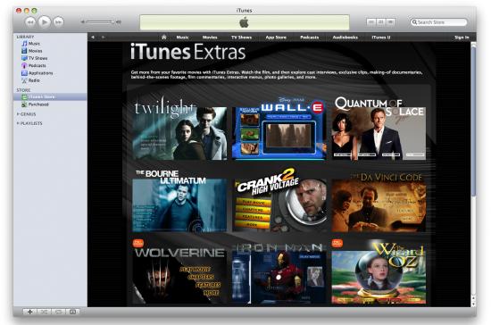iTunes Extra