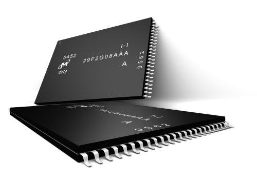 Chips de memória NAND flash