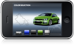 VW Scirocco para iPhone