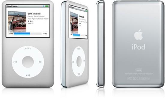 iPod classic prata