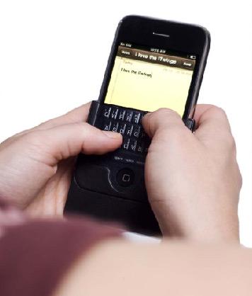 iTwinge, teclado físico para iPhone
