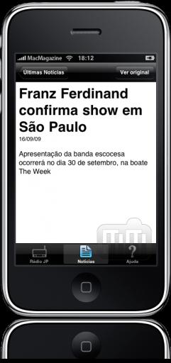 Rádio Jovem Pan AM no iPhone