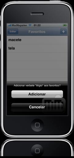 Michaelis no iPhone