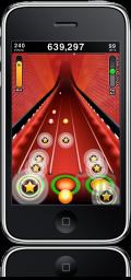 Tap Tap Revenge 3 no iPhone