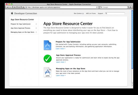 App Store Resource Center
