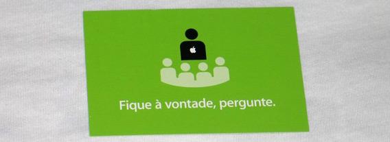 Cartão da Apple para consultores treinados