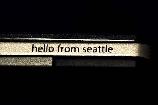 Hello from Seattle do Zune HD