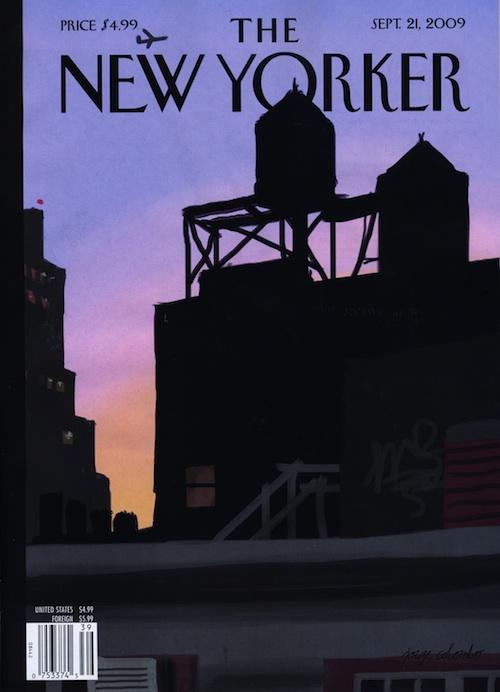 Capa da New Yorker, por Jorge Colombo