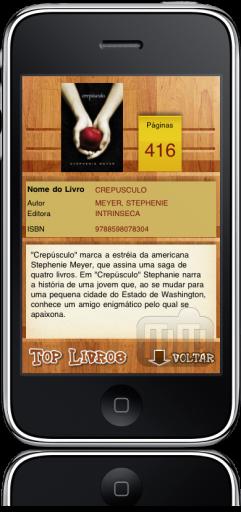 Top Livros 3.0 no iPhone