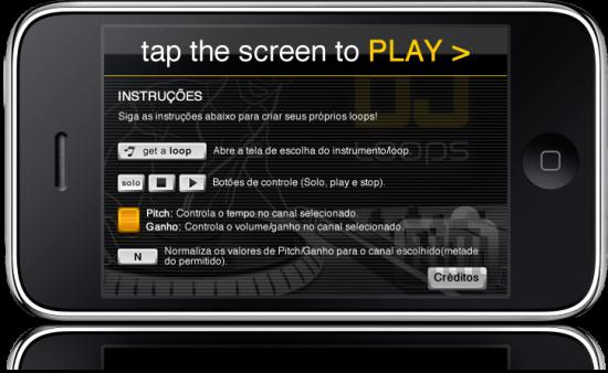 DJ Loops no iPhone