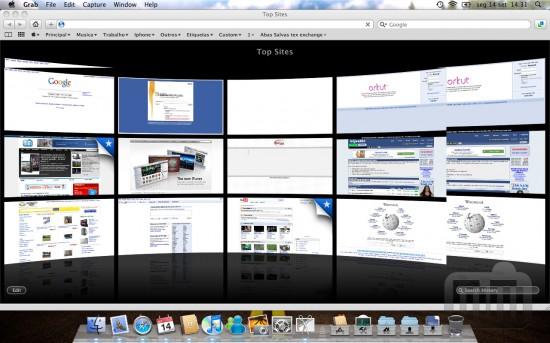 Mac FAIL miniaturas Top Sites