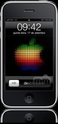 iPhone FAIL barra esmaecida