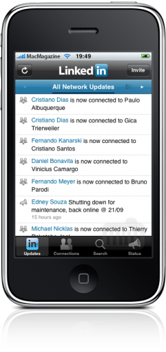 App do LinkedIn