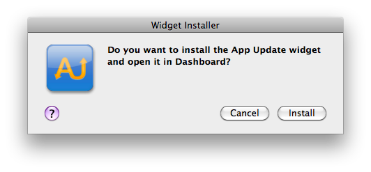 Instalando Widgets do Dashboard