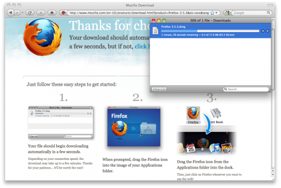 Instalando o Firefox 3.5: a Mozilla ensina o jeito certo de fazer
