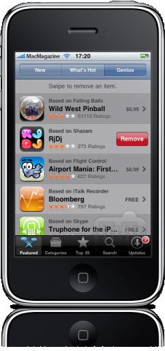 Genius for Apps no iPhone