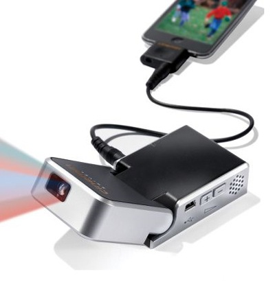 iPod Video Projector, da Hammacher
