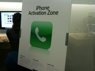 iPhone Activation Zone