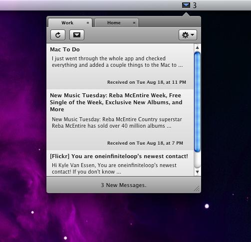 Notify para Mac OS X