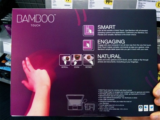 Wacom Bamboo Touch