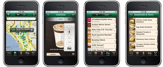 myStarbucks no iPhone