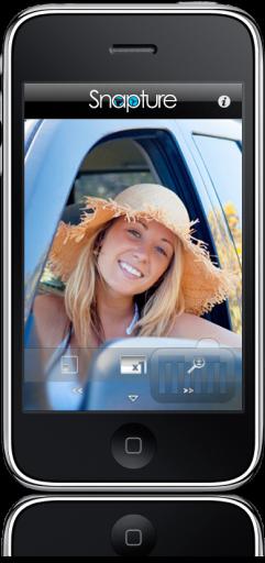 Snapture no iPhone
