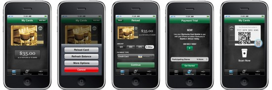Starbucks Card Mobile no iPhone