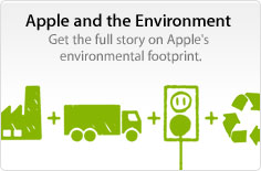 Apple and the Environment