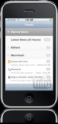 NetNewsWire 2.0 no iPhone