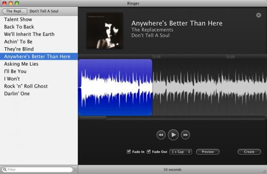 Ringer para Mac OS X