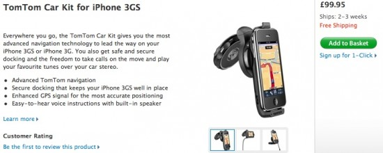 TomTom Car Kit para iPhone na Apple Online Store