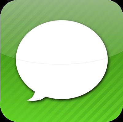 Ícone do Messages do iPhone