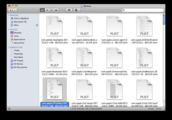 Dependendo da sua máquina, a extensão do arquivo pode ser diferente. Mas é apenas um arquivo que deve ser apagado