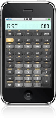 BA II Plus Financial Calculator no iPhone