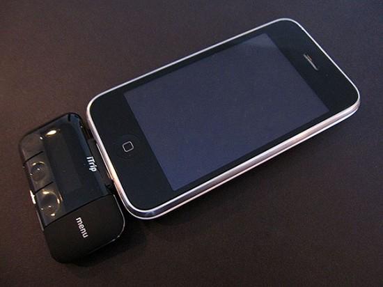 iPhone com novo iTrip
