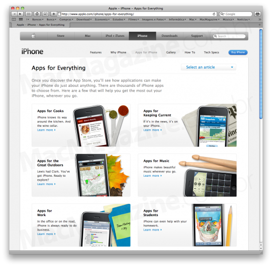 iPhone - Apps for Everything