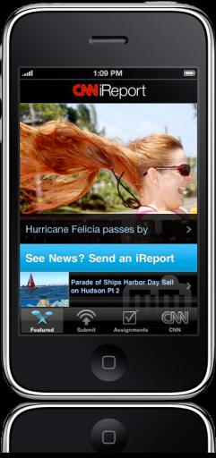 CNN Mobile no iPhone