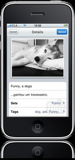 Flickr no iPhone