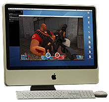 CrossOver Games - iMac