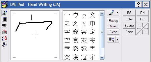 Método de entrada japonês da Microsoft