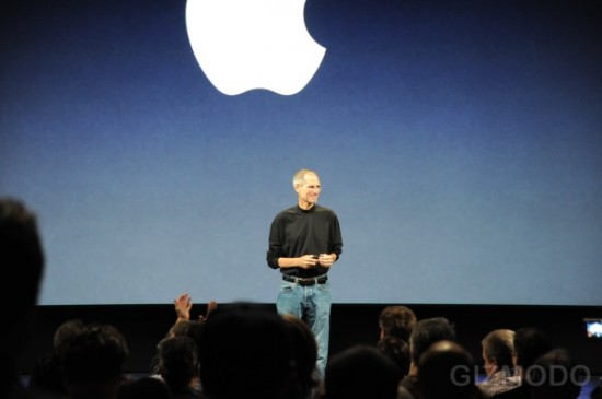 Steve Jobs na keynote It's only rock and roll