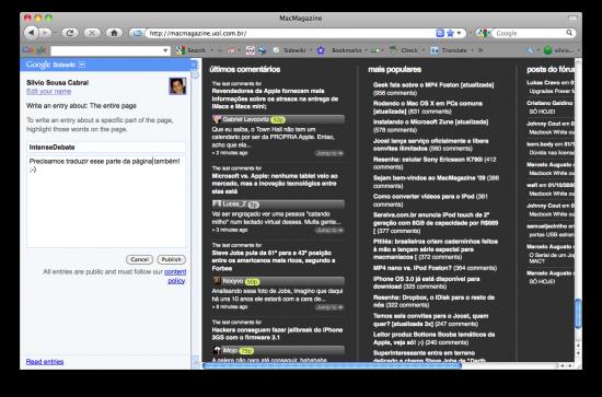 Barra do Google para o Firefox